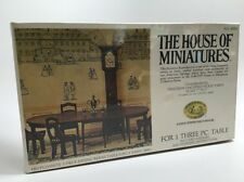 The House of Miniatures HEPPLEWHITE DINING ROOM TABLE Dollhouse No. 40006 Sealed