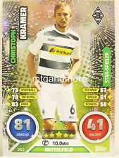 Match Attax 2016/17 Bundesliga - #263 Christoph Kramer - Star-Spieler