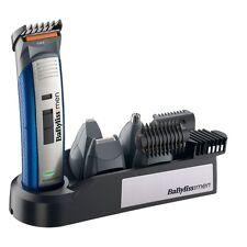 Babyliss E836XE Set 10in1 Blau-Silber Mulitfunktionstrimmer Haarschneider