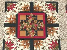 Ozark Calico Cheater Quilt Fabric Fabri-Quilt Floral Foliage 32 point Geometric