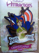 Pins Disney Attraction Peter Pan Flight