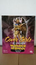 *COVER GIRLS OF THE DC UNIVERSE ARMORED WONDER WOMAN STATUE BATMAN ADAM HUGHES