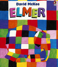 Elmer: The Story of a Patchwork Elephant, McKee, David Paperback Book
