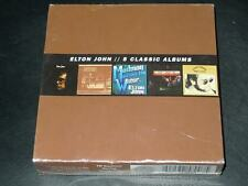 5 Classic Albums (1970-1973) [Box] by Elton John (CD, 2013, 5 Discs, Mercury)