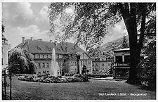 Bad Landeck Schlesien Georgenbad Postkarte 1937