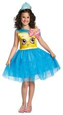 Shopkins Cupcake Queen Girl's Child Halloween Costume Girl Size S 4 - 6X NEW