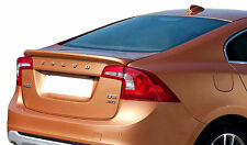 VOLVO S60 FACTORY STYLE UNPAINTED REAR WING SPOILER 2011-2017