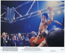 ROCKY 3 - 1982 - original 8x10 Mini Lobby Card #8 - SYLVESTER STALLONE - boxing