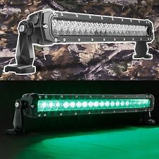GREEN US SELLER LONG RANGE HIGH POWER LED WORK LIGHT BAR 60W 6000LM SLIM STYLE
