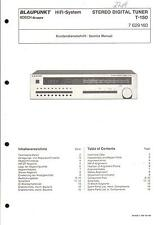 Blaupunkt Original Service Manual  für T-150