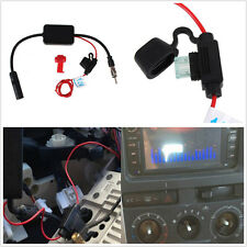Car SUV Stereo Antenna FM & AM Radio Inline Signal Amp ANT208 Amplifier Booster
