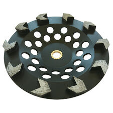 "7"" Arrow Seg Diamond Grinding Cup Wheel For Angle Grinders 7/8""-5/8"" Concrete"