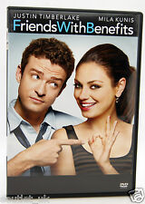 Friends with Benefits DVD Region 2 neu Justin Timberlake Mila Kunis