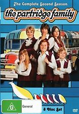THE PARTRIDGE FAMILY : COMPLETE SEASON 2  -  DVD - UK Compatible - New sealed