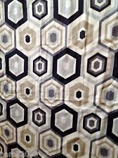 bespoke made to measure roman blind  lee jofa ground works -hexagon