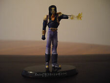DRAGONBALL Z. SUPER ANDROID 17 . 7CM .FIGURES. DBZ. FIGURINES. RARE.
