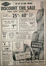 GOODYEAR SERVICE STORE AD THE GLASGOW REPUBLICAN SEPTEMBER 12, 1963  GLASGOW, KY
