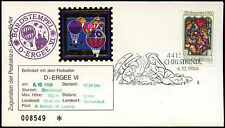 Austria 1980 Christmas FDC Balloon Post Cover #C15637