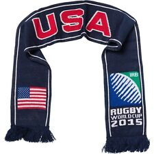 USA 2015 Rugby Union World Cup Knitted Scarf, Hosts England IRB, America Sports