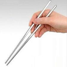 Chinesische/Japanische Chopsticks Ess Stäbchen Esstäbchen Edelstahl