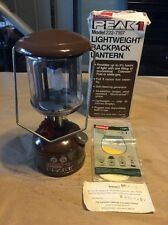 Vintage 1983 Coleman Peak 1 Backpack Lantern Model 222-7107