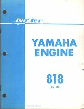 ORIGINAL 1971 SNO-JET YAMAHA ENGINE 818 (SS 433) PARTS MANUAL 13 PAGES  (468)