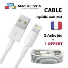 CHARGEUR IPHONE 6 - 5 5S 5C CABLE USB DATA SYNCHRO LIGHTNING 8 PIN IPAD MINI AIR