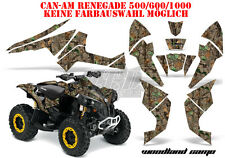 Amr racing décor Graphic Kit ATV CAN-AM renegade, ds250, ds450, ds650 woodland B