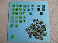 Full set 64 jeton (blip token) SPACE CRUSADE STARQUEST CRUZADA ESTELAR tokens
