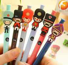 6pcs/Lot New Cute Cartoon Ball Point Pen Ballpoint Creative Student Stationery