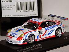 PORSCHE 911 GT3 RSR #76 MATMUT LE MANS 2007 MINICHAMPS 400076776 1/43