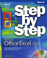 Microsoft® Office Excel® 2007 Step by Step (Step By Step (Microsoft)) by Frye, C