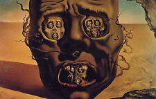 Framed Print - Salvador Dali The Face of War (Painting Picture Poster Art)
