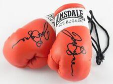 Autografiado Mini Guantes De Boxeo Joe Bugner