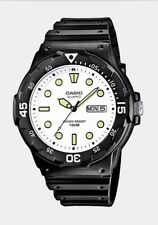 Casio Gents Analogue Day Date MRW-200H-7EV 100m Water Resist Watch. White Dial.