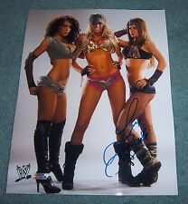 "Brooke Adams ""Miss Tessmacher"" Signed Autographed11x14 Photo WWE"