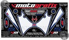 Suzuki Gsxr 1000 07 - 08 Frontal Carenado número Board motografix Gel Protector