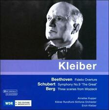 Kleiber conducts Beethoven, Schubert, Berg, New Music