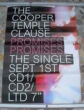 COOPER TEMPLE CLAUSE Promises promo poster 28 x 19 2003
