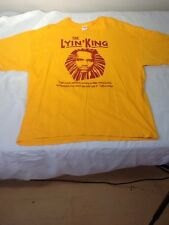 St536 The Lyin' King T-Shirt 2XL  Lebrun James Cleveland Cavaliers Cavs