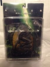 "Alien Figurine Wall Relief 5""x5"" Alien In Front Of Egg MIP ! 2004"