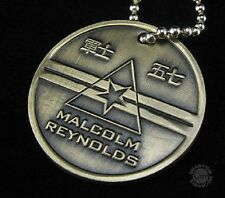 Firefly- Serenity Malcolm Reynolds Dog Tags offizielles Replica Metall Motiv1
