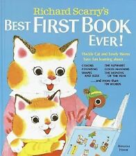 Richard Scarry's Best First Book Ever! by Richard Scarry (1979, Hardcover)
