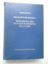 Der praktische Stahlbau Berechnung der statisch bestimmten Tragwerke 1960