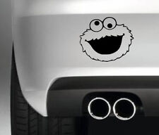 COOKIE MONSTER CAR BUMPER STICKER FUNNY DRIFT JDM MAN TOLIET SIGN