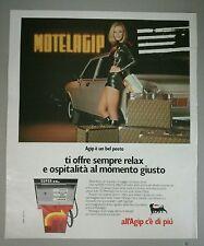 Pubblicità 1972 AGIP RAFFAELLA CARRÀ FENDI AUTO CAR old advert werbung publicité