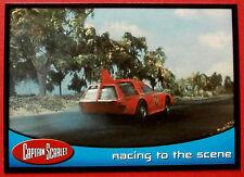 El capitán escarlata-tarjeta #56 - Racing a la escena-Tarjetas inc. 2001