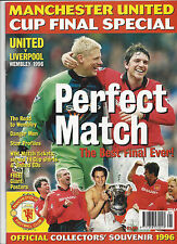 MANCHESTER UNITED - LIVERPOOL FC, FA Cup Finale Wembley 1996 - Special