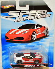 HOT WHEELS SPEED MACHINES FERRARI F430 CHALLENGE BAD CARD