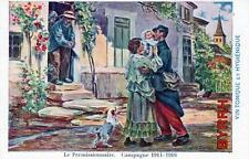 CPA PUBLICITE BYRRH LE PERMISSIONNAIRE CAMPAGNE 1914-16